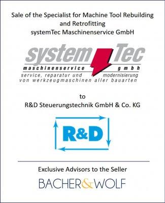 systemtec Retrofitting Maschinen
